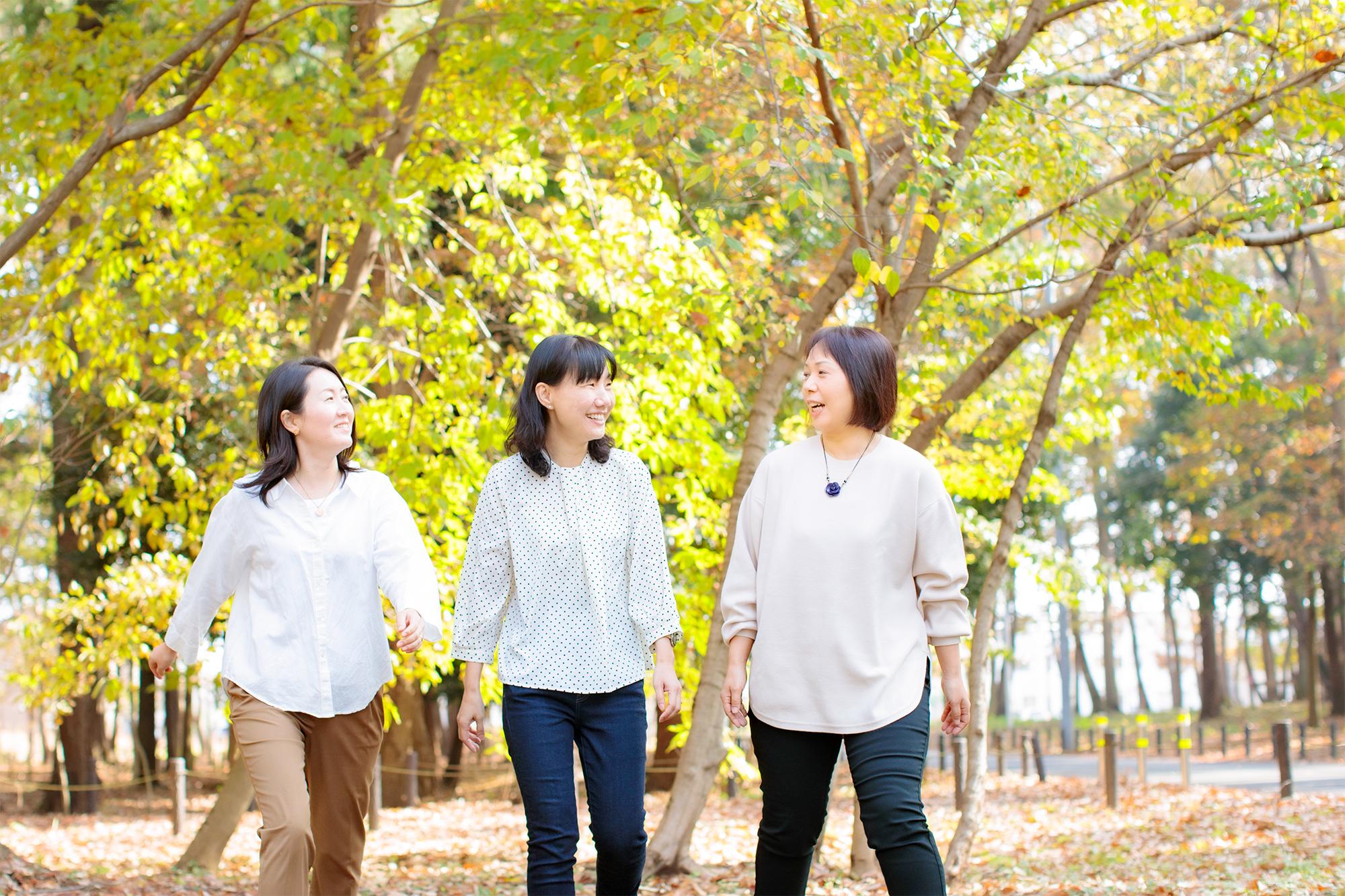 3人の画像